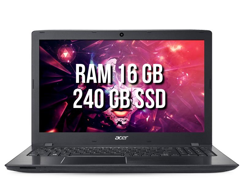 Acer Aspire E5-575G-57D4 16GB SSD240