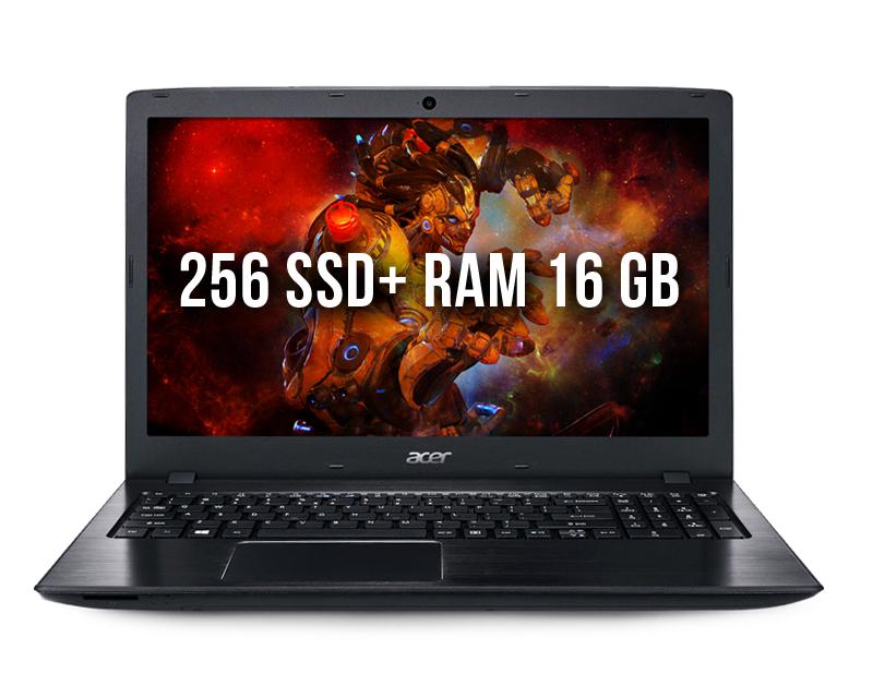 Acer E5-576G-81GD 16gb 256ssd