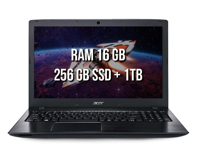 Kit 1803 Acer E5-576G-5762 (16Gb +1Tb)